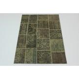 Patchwork fein Perser Teppich 2,40 X 1,70